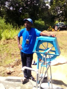 New Style Water Well in Mozambique